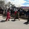 حريق هائل يلتهم محلات تجارية بصنعاء