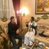 البخيتي يلتقي مدير برنامج اليمن في المعهد الأوروبي للسلام ويؤكد له استحالة السلام مع الحوثيين