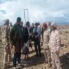 نائب وزير الصناعة والتجارة يزور معسكر العر يافع ويتفقد جبهات القتال
