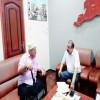 بن بريك يلتقي الشخصية الوطنية والاجتماعية السيد علي الجنيدي