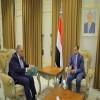 الحضرمي ..  يبحث مع السفير المصري العلاقات الثنائية المتميزة بين البلدين الشقيقين