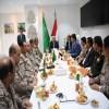 اجتماع عسكري رفيع المستوى برئاسة فخامة الرئيس عبدربه منصور هادي القائد الأعلى للقوات المسلحة في قيادة القوات المشتركة