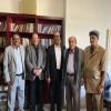 الرئيس علي ناصر يستضيف العطاس والميسري والجبواني بمنزله في القاهرة