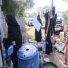 """"""" الخيَّالي يستجيب لمناشدة نشرت في صحيفة """"عدن الغد"""" و يسارع لنجدة أسرة معدمة في أبين"""