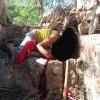 قناص حوثي يقتل طفل ويصيب شقيقه بتعز