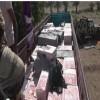 القوات المشتركة تضبط شاحنة تحمل سجائر ودراجات ناريةمهربة للحوثيين بالجراحي