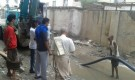 البدء بإصلاح الكسر في خط المجاري في حي الاحمدي واستمرار حملة النظافة الشاملة في خورمكسر
