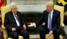 عباس لترامب: تحقيق السلام من مصلحتنا ومصلحة إسرائيل وواثقون بأنكم مصممون عليه