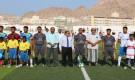 رئيس جامعة حضرموت  يدشن بطولة الجامعات اليمنية في المكلا