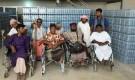 أعضاء جمعية المعاقين حركيا يزورون مجمع المهرة الصناعي (مياه المهرة)