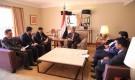 رئيس الوزراء يناقش مع السفير التركي إمكانية استقبال دفعة جديدة من جرحى الجيش الوطني