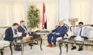 وزير الخارجية يلتقي القائم بأعمال السفير الالماني لدى بلادنا