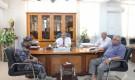 العميد التميمي يلتقي برئاسة جامعة حضرموت لمناقشة آخر التطورات