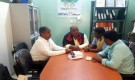 مدير عام خنفر يزور مؤسسة شباب أبين ويشيد بجهودها المجتمعية