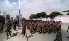 عرض عسكري ضخم لوحدات عسكرية نظامية بزنجبار
