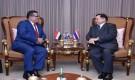 بعد تقديم اوراق اعتماده كسفير غير مقيم .. السفير باحميد يجري سلسلة من اللقاءات مع الجانب التايلاندي