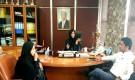 العراشة تلتقي مدير شركة الغاز فرع عدن