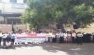 عدن:مواطنون ينفذون وقفة احتجاجية للمطالبة بتسليمهم أراضي صرفتها لهم الدولة بمخطط بئر فضل