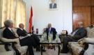وزير الخارجية يناقش مع السفير البريطاني نتائج مشاورات السويد