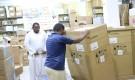 مكتب الصحة والسكان بالمهرة يتسلم الدفعة الأولى من أجهزة غسيل الكلى