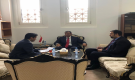 نائب وزير الخارجية يلتقي القائم بأعمال السفارة الامريكية