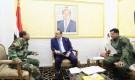 وزير الداخلية يلتقي مدير عام شرطة العاصمة المؤقتة عدن