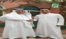 الشيخ عبد العزيز المفلحي يستقبل الفنان الشاب عمر ياسين