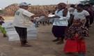 مركز الملك سلمان للإغاثة يوزع 6,630 كرتونا من التمور  في محافظة تعز