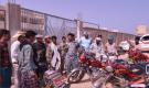 إدارة أمن قلنسية بسقطرى تنفذ حملة لضبط الدراجات النارية المخالفة