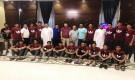 وزارة الشباب والرياضة تودع منتخب الناشئين نحو آسيا.