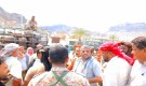 انتقالي المعلا يدشن توزيع الغاز المنزلي على سكان المديرية ويشارك في حملة منع حمل السلاح