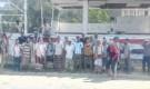 وقفة احتجاجية لمنتسبي اللواء 39 مدرع بعدن