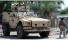 رويترز: جندي سعودي بجانب مركبة مدرعة في عدن في صورة بتاريخ السادس من نوفمبر تشرين الثاني 2019. تصوير: فواز سلمان - رويترز.