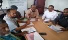رئيس شعبة التوجية والمناهج بمكتب التربية والتعليم لحج يترأس إجتماعاً للموجهين.