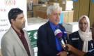 وزارة الصحة توزع معدات وأجهزة طبية لعشر محافظات يمنية