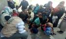 منظمة اليونيسيف تتفقد مخيم بويش للنازحين بالمكلا