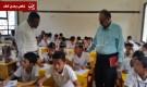 تدشين اختبارات الفصل الدراسي الاول للتعليم الأساسي والثانوي بمحافظة عدن