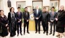 منظمة شباب اليمن تحضر حفل استقبال السفير الأمريكي لدى بلادنا
