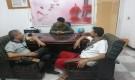 مدير مؤسسة تحديث يلتقي مدير مشاريع منظمة شركاء اليمن