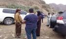فريق قناة BBC في زيارة للقوات الجنوبية في جبهات حيفان عيريم جنوبي تعز