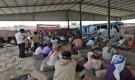أقامها في مدينة زنجبار :انتقالي أبين يقيم خيمة عزاء لضحايا مجزرة معسكر