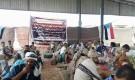 لجنة خيمة عزاء الشهداء تستقبل المئات من أبناء الجنوب في ابين وتصدر بيانا