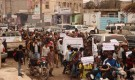 تعز.. مسيرة ووقفة احتجاجية لبائعي القات بمدينة التربة