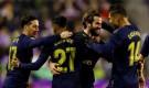 ناتشو يقود ريال مدريد إلى صدارة الدوري الإسباني