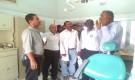 مدير عام حبيل جبر يستقبل وفد منظمة أطباء العالم الزائر لمستشفى المديرية