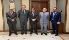 قيادات بالمجلس الانتقالي تلتقي السفير الفرنسي لدى اليمن