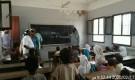 مدير التربية والتعليم بالمحفد يتفقد مدرسة القدس للتعليم الأساسي
