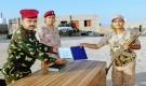 حضرموت : قائد معسكر كوارتز يكرم الأفراد المتميزين