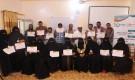 اختتام البرنامج التدريبي حول العنف المبني على النوع الاجتماعي لعدد 30 متدرب ومتدربة في مديرية الشحر