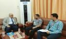 رئيس انتقالي عدن يلتقي بممثلين عن القضاة الجنوبيين خريجي الدفعة 21